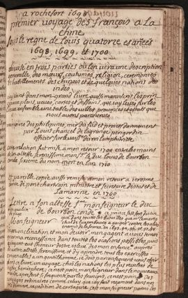 Le premier volume des voyages curieux faits dans diverses provinces, de France, dEspagne, de Flandres et de Loraine lespace de cinquante ans par mess.re Louis de Chancel de Lagrange ... escrit de sa propre main. Louis de Chancel de LAGRANGE.
