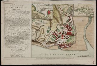 A Plan of Quebec. Edward / ROCQUE OAKLEY, John