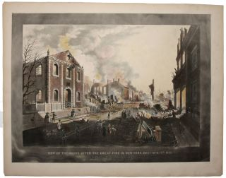 View Of The Ruins After The Great Fire In New-York, Decr. 16th. & 17th. 1835. As Seen From...