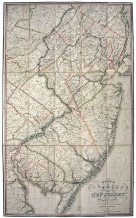 A Map of the State of New Jersey with part of the Adjoining States. Thomas GORDON