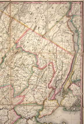 A Map of the State of New Jersey with part of the Adjoining States