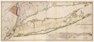 Geological Map of Long & Staten Islands with the Environs of New York…. W. W./ SMITH MATHER, T. C