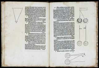 Prospectiva co(mmun)is. LEONARDO DA VINCI, Johannes de / PECKHAM, Archbishop of Canterbury /, or...