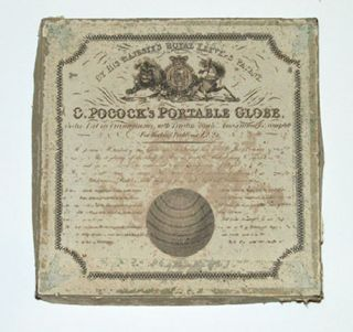 G. Pocock's Portable Globe Twelve Feet in circumference.