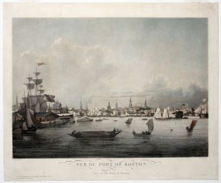 Vue du Port de Boston/ View of the Port of Boston. Louis GARNERAY, Ambroise