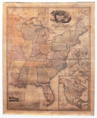 Map Of The United States. S. A./ YOUNG MITCHELL, J. H.