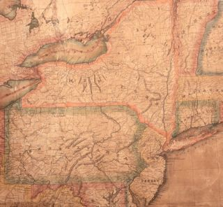Lay's Map of the United States. Compiled from the Latest and best Authorities and Actual Surveys…