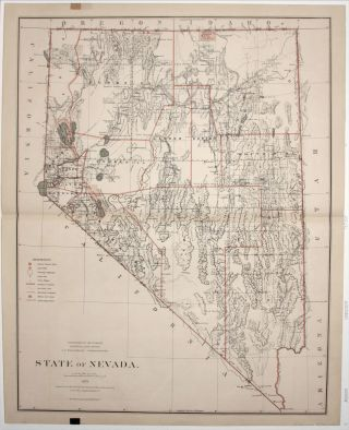 State of Nevada. Published by the Department of the Interior, General Land Office. J. A....