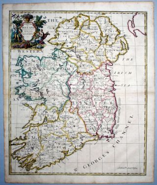 A New Map of Ireland…. J. SENEX