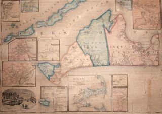 Map of the Counties of Barnstable, Dukes and Nantucket, Massachusetts…