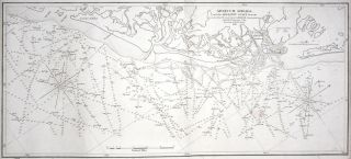 Coast Of North America from Point Judith to Cape St. Antonio. (Island Of Cuba) Including The Bhama Banks… Every Authentic Survey, American, English & Spanish, Has Been Used In The Construction Of This Chart…