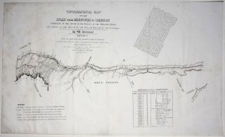 Topographical Map Of The Road From Missouri To Oregon…In VII Sections…From the field notes and journal of Capt. J. C. Fremont, and from sketches and notes made on the ground by his assistant Charles Preuss…