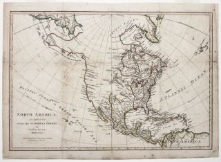 North America, As Divided amongst The European Powers…. Samuel/ SAYER DUNN, Robert.