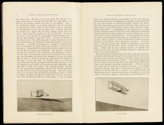 Experiments and observations in Soaring flight. By Mr. Wilbur Wright / Dayton Ohio/ Printed in...